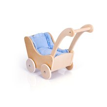 Guidecraft's Doll Buggy, Natural