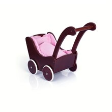 Guidecraft's Doll Buggy Espresso