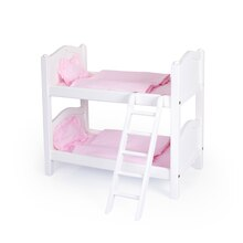Guidecraft's Doll Bunk Bed, White