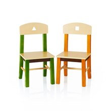 Guidecraft's See & Store Extra Chairs Set