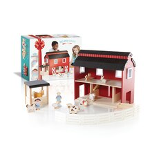 Guidecraft Big Red Barn With Box