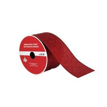 "Bow-Tique™ Red Glitter Christmas Ribbon By Celebrate It®, 2.5"" x 25ft., medium"