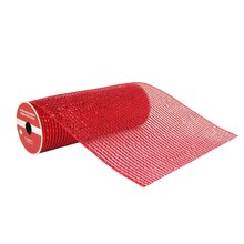 "Premium Red Extra Wide Mesh Ribbon By Celebrate It, 9"" x 6yd."