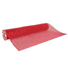 "Red Extra Wide Mesh Ribbon By Celebrate It, 19"" x 4yd."