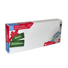 Merry Christmas Canvas Painting Kit By Artist's Loft