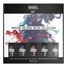Liquitex Professional Acrylic Ink! Special Release Muted Collection Set