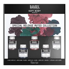 Liquitex Soft Body Acrylic Paint Special Release Muted Collection Set
