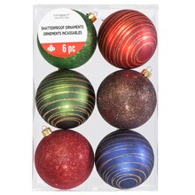Pinecone Lodge Ball Ornaments By Celebrate It