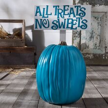 Teal Pumpkin, medium