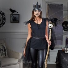 Raven Queen Halloween Costume, medium