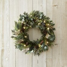Metallic Wreath, medium