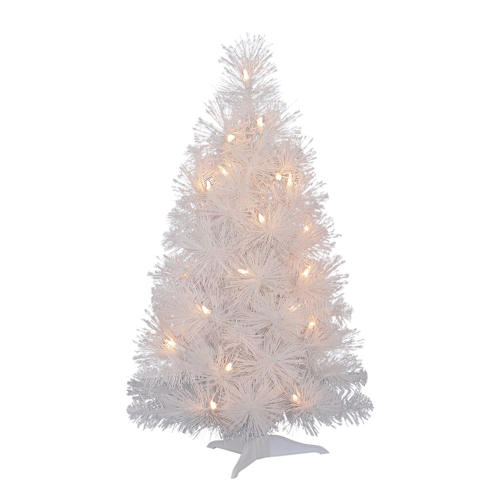 2 Ft White Christmas Tree