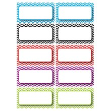 Color Chevron Nameplate Die-Cut Magnets, 5 Packs