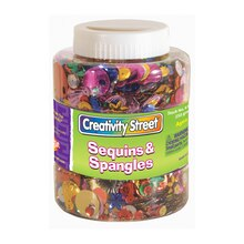 Sequins and Spangles Shaker Jar