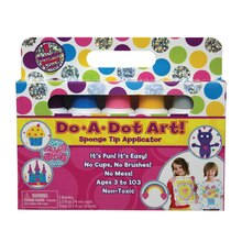 Do A Dot Art! Washable Shimmer Markers, 5 colors