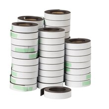 Magnetic Adhesive Strips, 48 Rolls