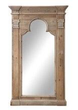 Terrain Pine Framed Mirror, medium