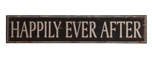 'Happily Ever After' Wall Decor, medium