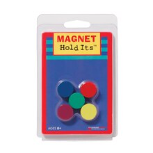 "3/4"" Magnet Hold Its, 6 Packs"
