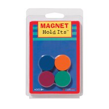 "1"" Magnets Hold Its, 6 Packs"