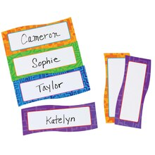 Magnetic Name Plates, 40 Pieces
