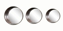 Pure Round Framed Mirrors
