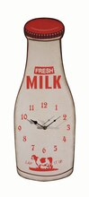 Milk Bottle Wall Clock