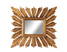 Collected Notions Rectangle Sunburst Mirror
