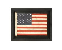 Waterside Framed USA Flag