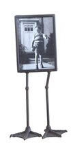 """Smudge Metal Photo Frame with Duck Feet, 14.75"""""""