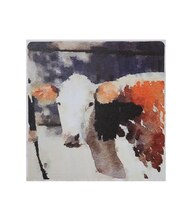 Craig Miller Casual Country Cow Canvas Wall Decor