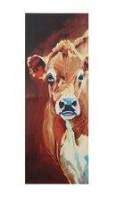 Diane Whitehead Gallery Tall Cow Canvas Wall Decor