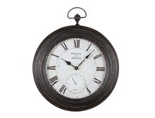 Collected Notions Pocket Watch Shaped Wall Clock