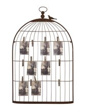 Birdcage Card & Photo Holder