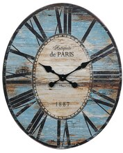 Collected Notions Oval Wall Clock