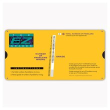 E-Z Large Print Yellow Grader, 3 Count