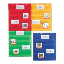 Magnetic Pocket Chart Squares, Pack of 4