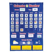 Calendar and Weather Pocket Chart