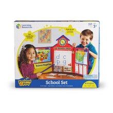 Pretend and Play School Set with U.S. Map Package
