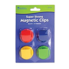 Super Strong Magnetic Clips, 2 Packs of 4 In Package