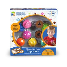 Smart Snacks Shape Sorting Cupcakes Package