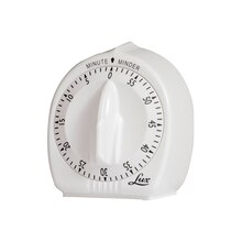 Classic Mechanical Timer, White, 2 Count