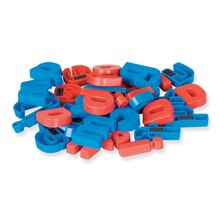 Magnetic Plastic Lowercase Letters, 2 Sets