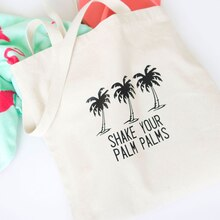 Palm Tree Trio Tote, medium