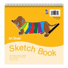 Sketch Book, 12 Packs of 40