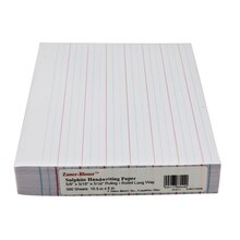 Pacon® Zaner Bloser™ Ruled Paper Ream, medium