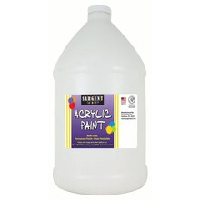 Sargent Art Titanium White Paint, Half Gallon Bottle