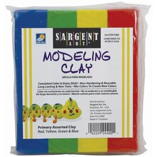 Sargent Art® Primary Colors Modeling Clay, 12 Count, medium