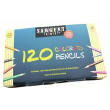 Sargent Art Colored Pencils, 120 Count