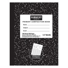 Hard Cover Composition Books, 12 Count